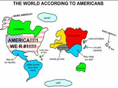 American World Map?   YouTube