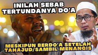 Download lagu INILAH SEBAB DOA TERTOLAK MESKIPUN BERDOA SETELAH TAHAJUD ATAUPUN SAMBIL MENANGIS | Ust. Adi Hidayat