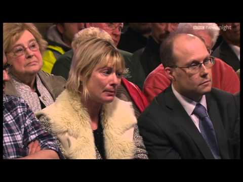 NEWSNIGHT: Live audience in Wraysbury discusses the floods with Philip Hammond