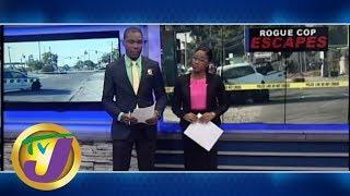 TVJ News: Rogue Cop Escapes Custody - April 29 2019