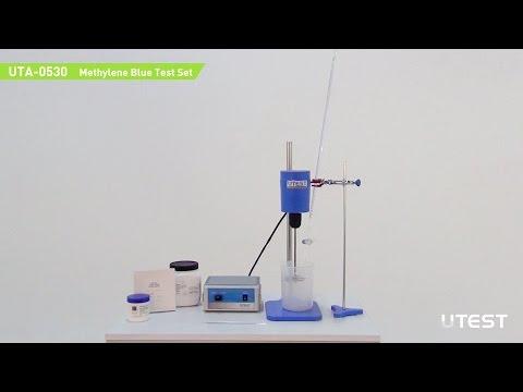 UTA 0530, Methylene Blue Test Set, EN