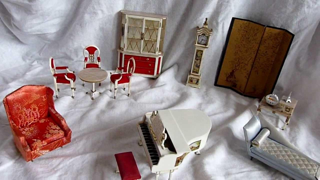 Petite Princess Dollhouse Furniture 48 Years Old Petite Princess Poppenhuis  Meubeltjes 48 Jaar Oud