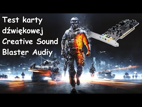 Creative Sound Blaster Audigy SE SB0570 Test Battlefield 3
