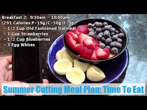 Summer Cutting Meal Plan: Time To Eat