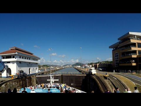 Panama Canal Full Transit (NOT Time-Lapse)