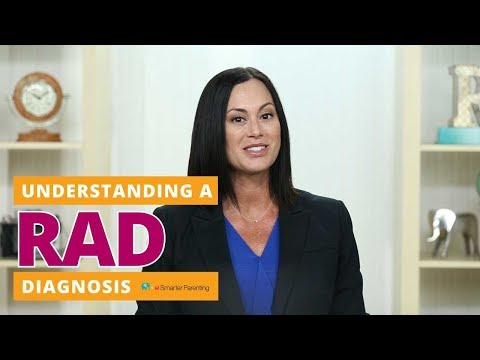 What is RAD Diagnosis | RAD Definition - Reactive Attachment Disorder DSM 5