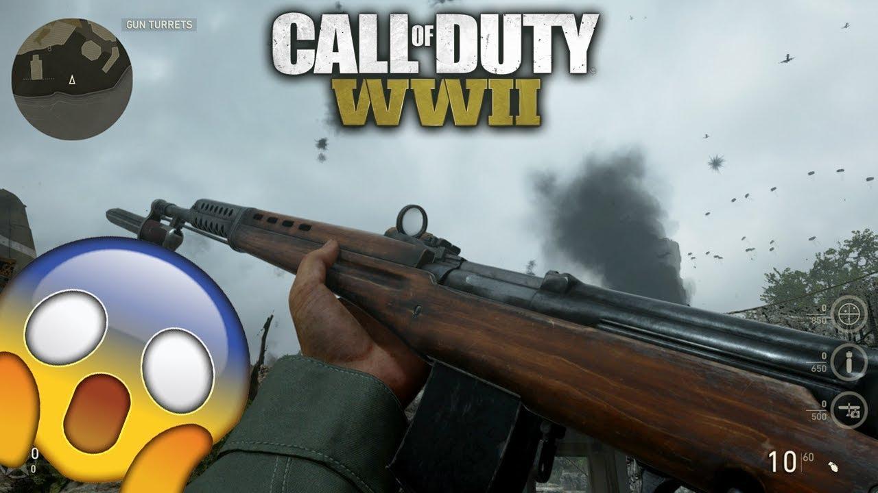 COD WW2 *SECRET* infantry division weapon - prestige unlocks and ...