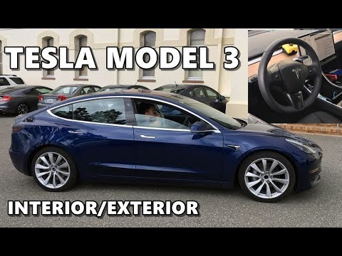 Tesla Model 3 Interior Exterior - Detailed Look
