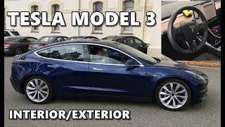 Tesla Model 3 Interior Exterior - Detailed Look