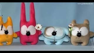 видео Простые выкройки игрушек из ткани своими руками