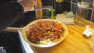 Pasta med kjøttsaus.wmv