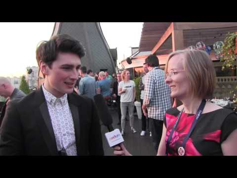 ESCKAZ In Kyiv: Chat With Brendan Murray (Ireland) At The Netherlands Party