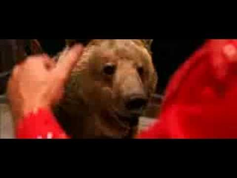 Semi Pro Dewie the Bear Scene