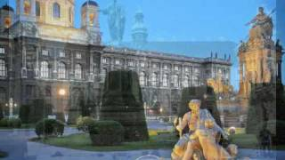 """Mozart, Serenade Kv 361, """"Gran Partita"""", Largo-Allegro molto, with images of Vienna"""