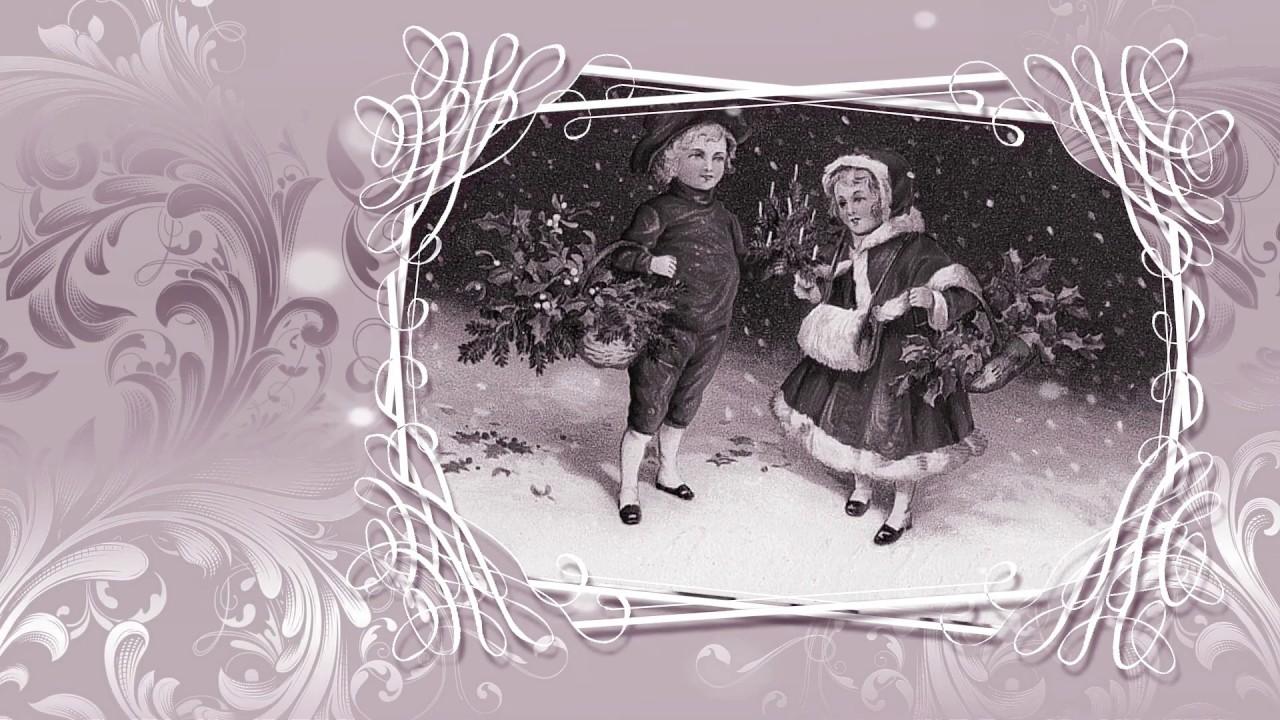 Ретро открытки с Рождеством Христовым