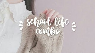 「 school life combo — forced subliminal 」