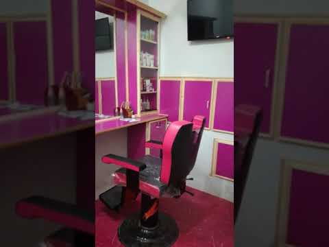 In a small place pakistani beauty parlor