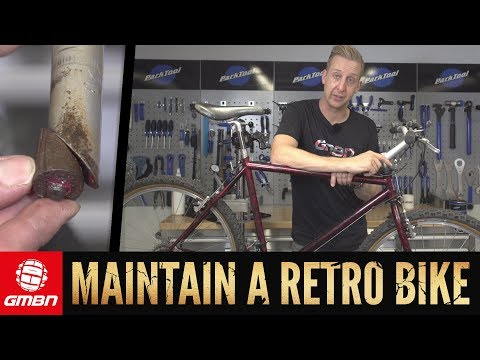 How To Safety Check A Retro Mountain Bike | GMBN Freak Week