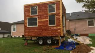 The Cozy Rosie Tiny House Exterior By Carpenter Owl