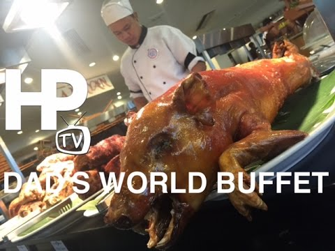Dad's World Buffet Lunch Saisaki Kamayan Glorietta Ayala Center Makati by HourPhilippines.com