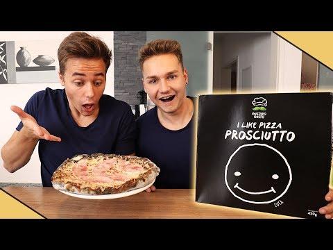 Max und Chris probieren zum ersten Mal die LUCA PIZZA 2 | Max und Chris