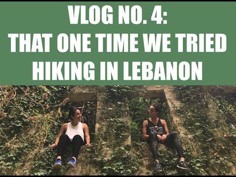 HIKING IN LEBANON   TRAVEL VLOG   EAT SUNSHINE CAFE