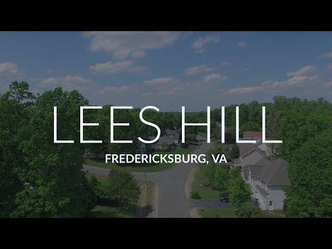 Lees Hill in Fredericksburg VA.