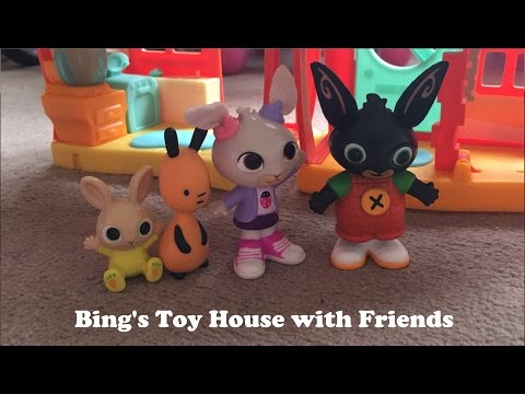 Bings Toy House & Friends  Ba Charlie, Flop, Coco  KidsChilds Toy Play House  Daddy s
