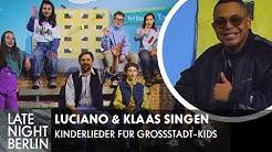 Luciano & Klaas singen Kinderlieder für Großstadt-Kids | Late Night Berlin | ProSieben