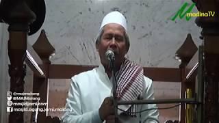 Khutbah Jumat - Kh. Marzuki Mustamar