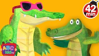 Скачать Crocodile Alligator Song 2D More Nursery Rhymes Kids Songs CoCoMelon