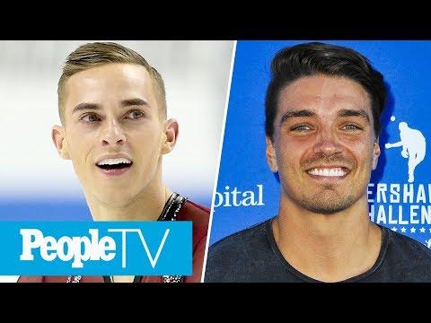 Dean Unglert Reveals Biggest Flirt On Bachelor Winter Games, Adam Rippon's Olympic Debut | PeopleTV