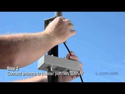 How To Setup An Outdoor WiFi Booster