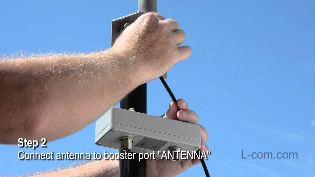 How To Setup An Outdoor Wifi Booster Youtube