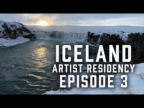 Iceland Artist Residency Ep 3