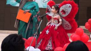 Shloka in mothers pride fashion show.flv