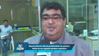 Maurício fala da produtividade do primeiro biênio do seu segundo mandato legislativo.