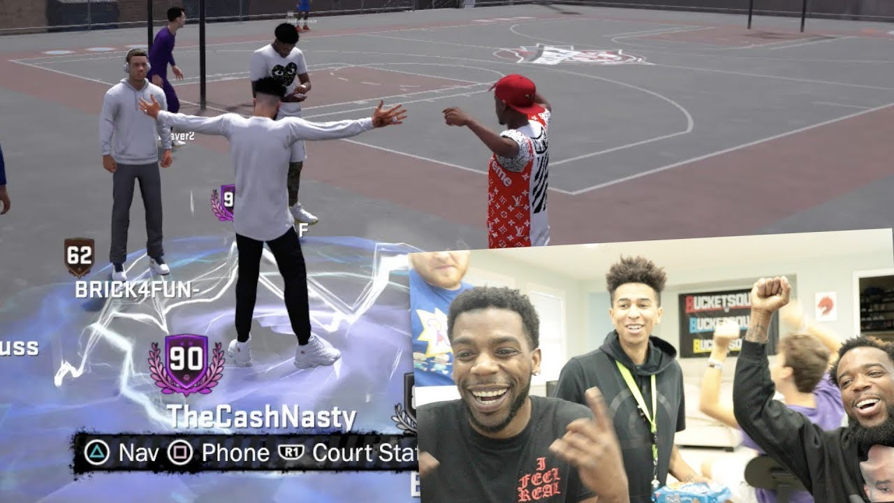 craziest-way-getting-90-overall-reaction-nba-2k18-playground