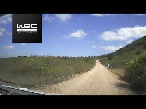 WRC - Rally Italia Sardegna 2017: Shakedown Onboard Lappi
