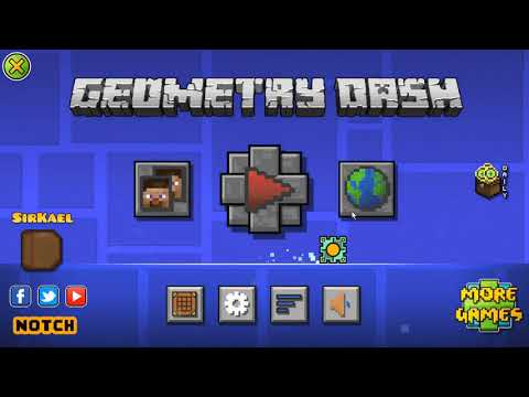 [WIP] Minecraft Texture Pack For Geometry Dash 2.11 | Preview | SirKaelGD