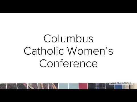 Lisa Hendey at Columbus Catholic Women's Conference
