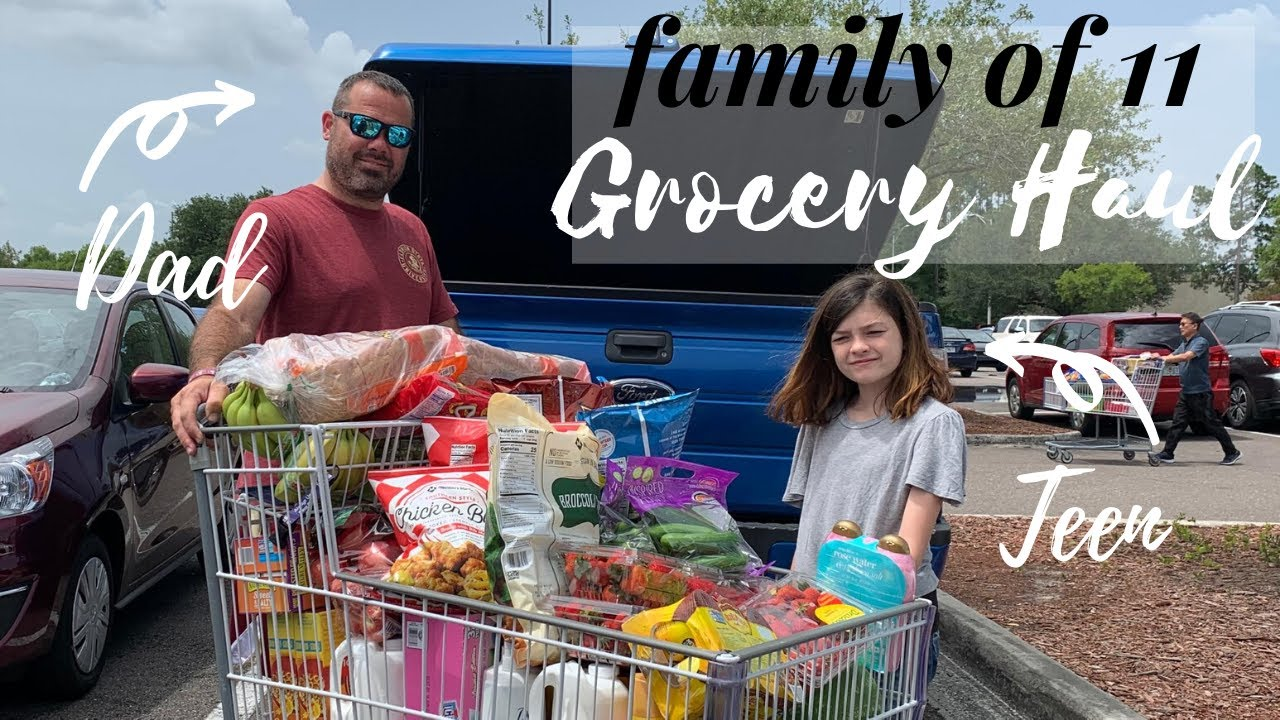 Large Family Grocery Haul || Family of 11