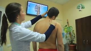 видео Боли в спине вдоль позвоночника