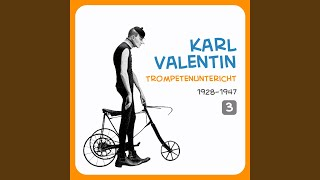Karl Valentin – Radfahrer und Verkehrsschutzmann