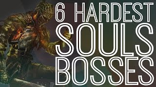 6 Hardest Bosses In The Souls Series - The Gist