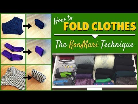KonMari Folding: How To Fold Clothes Using The KonMari Method