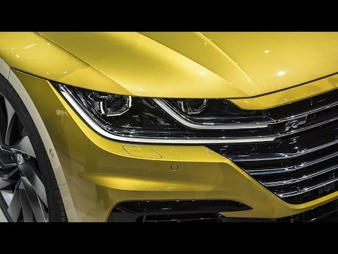 Wow The VW Arteon is the CC sedan's really good looking successor