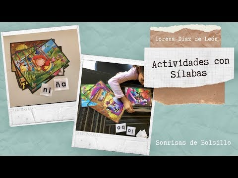 Actividades Con Sílabas -  Leer Y Escribir