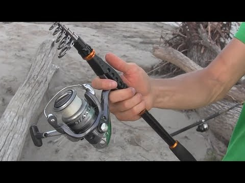 Telescopic Fishing Rod Review - Sougayilang- Portable and Collapsible Pole