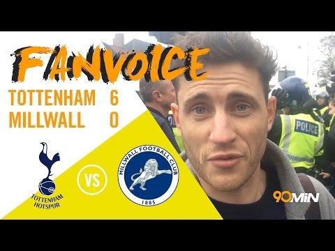 Tottenham batter Millwall 6-0 as Son scores hat-trick!   Tottenham 6-0 Millwall   90min FanVoice